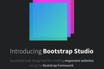 Bootstrap Studioはあなたのサイトデザインを爆速にする。