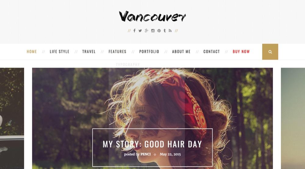 WordPressテーマ Vancouver
